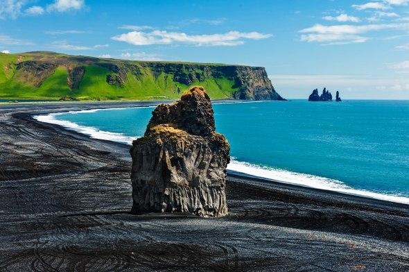Cape Dyrholaey Vik Beach Iceland Wedding Location