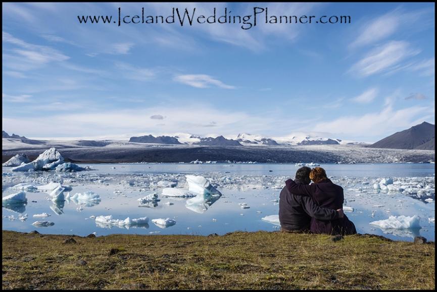 Iceland Wedding Photography at Jokulsarlon Glacier Lagoon