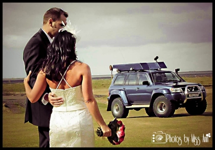 Icelandic Wedding Super Jeep