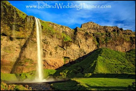 Seljalandsfoss Wedding Photographer and Iceland Wedding Planner
