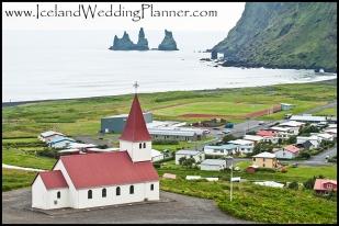 Vik Beach Church Iceland Wedding Ceremony Location