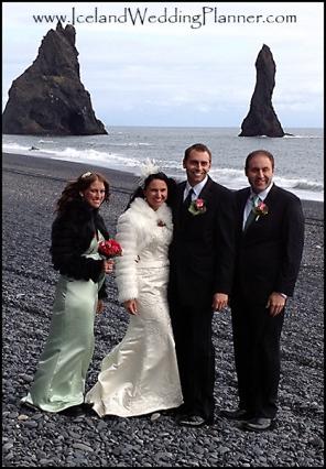 Vik Beach Wedding Photographer Photos by Miss Ann