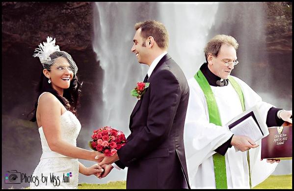 Waterfall Wedding Iceland Planning