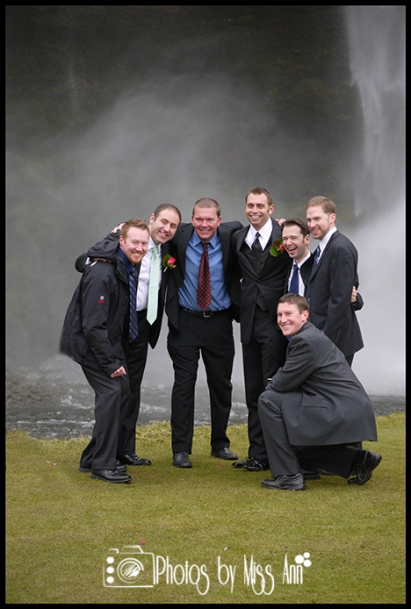 Seljalandsfoss Waterfall Wedding Photography