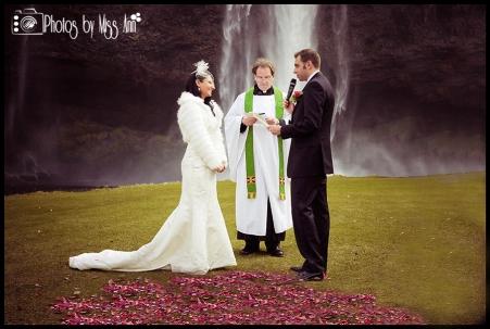 Seljalandsfoss Wedding Ceremony Vows
